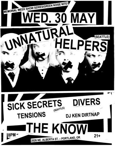 5/30/12 UnnaturalHelpers/SickSecrets/Divers/Tensions