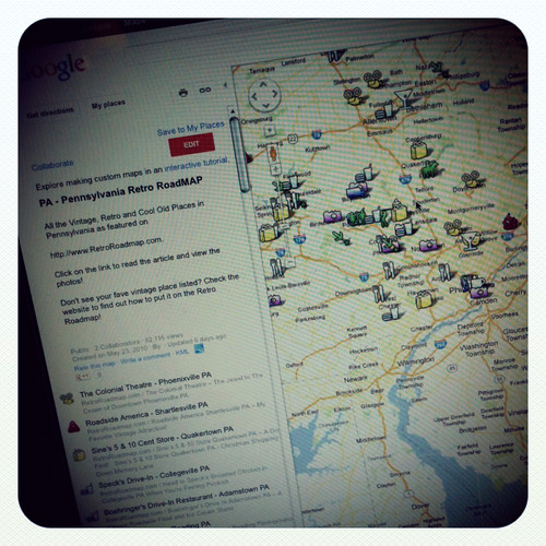 The Retro Road Maps!