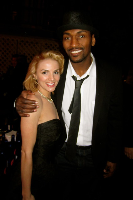 Marie Bollinger, Metta World Peace (Ron Artest),  Oscars After Party, Beverly Hills