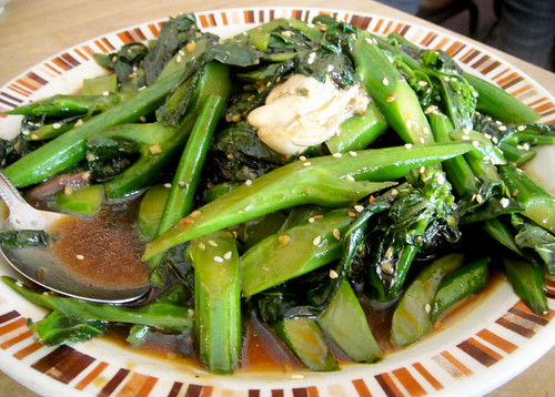 Gai Lan and Beef Cheeks