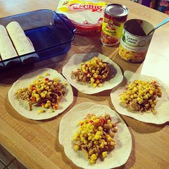 Dinner prep. #dinner #food #skinnyenchiladas