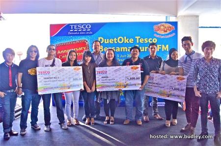 Pemenang di Tesco Station 18 Ipoh