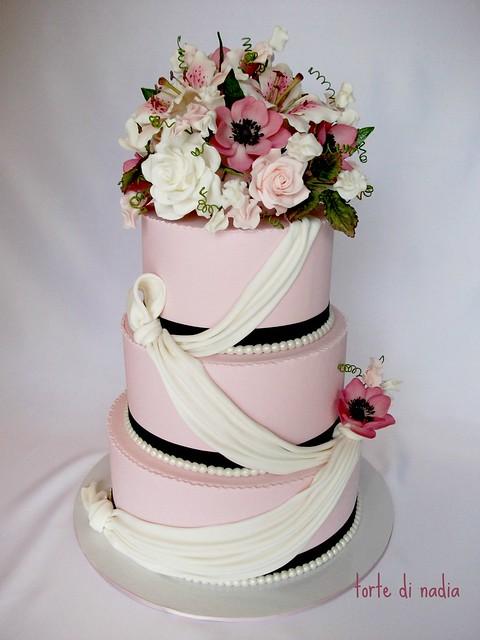 Dscf0704 Painted Wedding Cake
