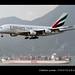 Airbus   A380-861   Emirates   A6-EDQ   Hong Kong   HKG   VHHH by Christian Junker   Photography