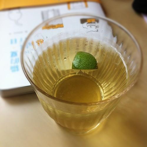夏日煎茶冰檸檬