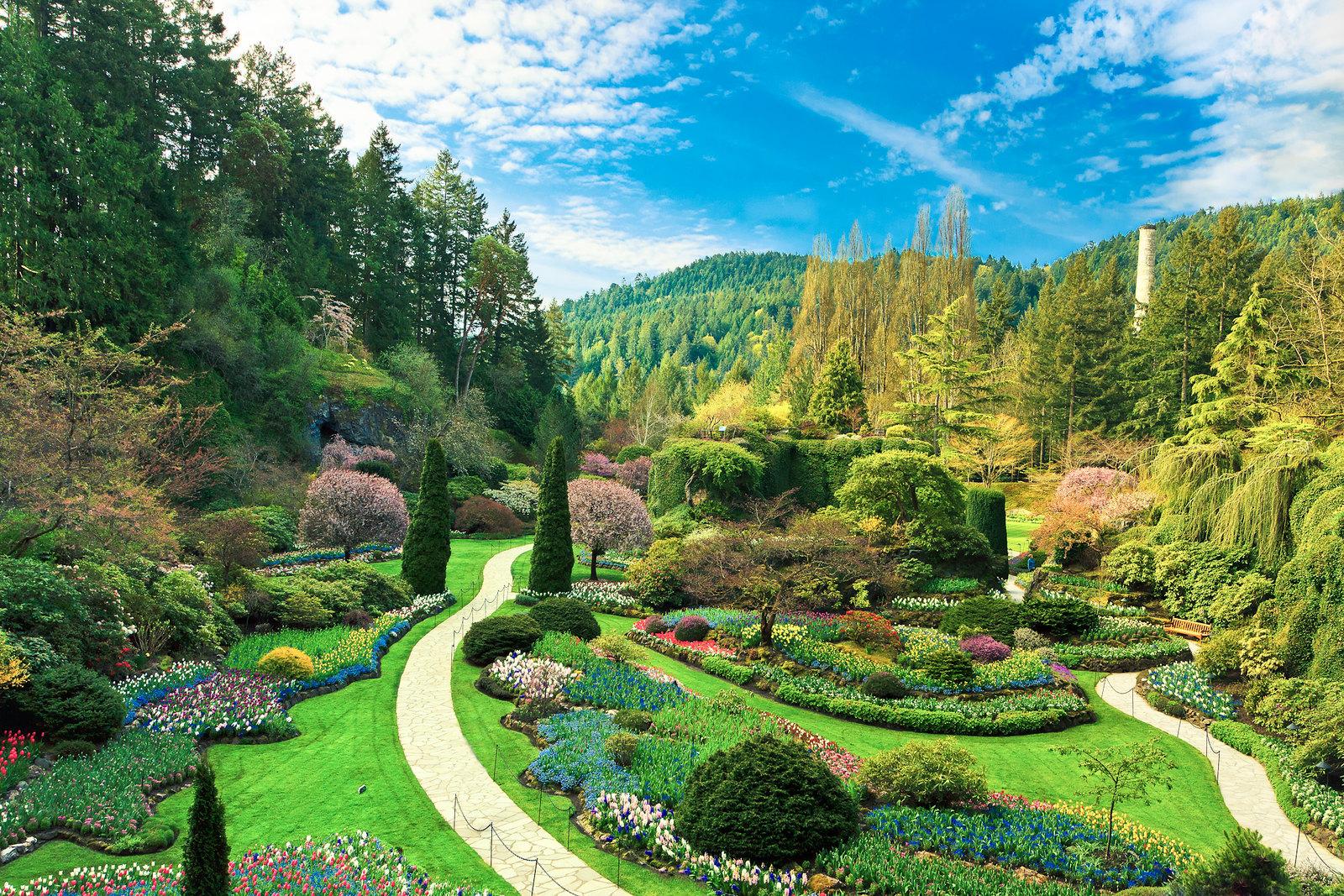Butchart gardens victoria bc 1600x1067 earthporn - Giardini fantastici ...