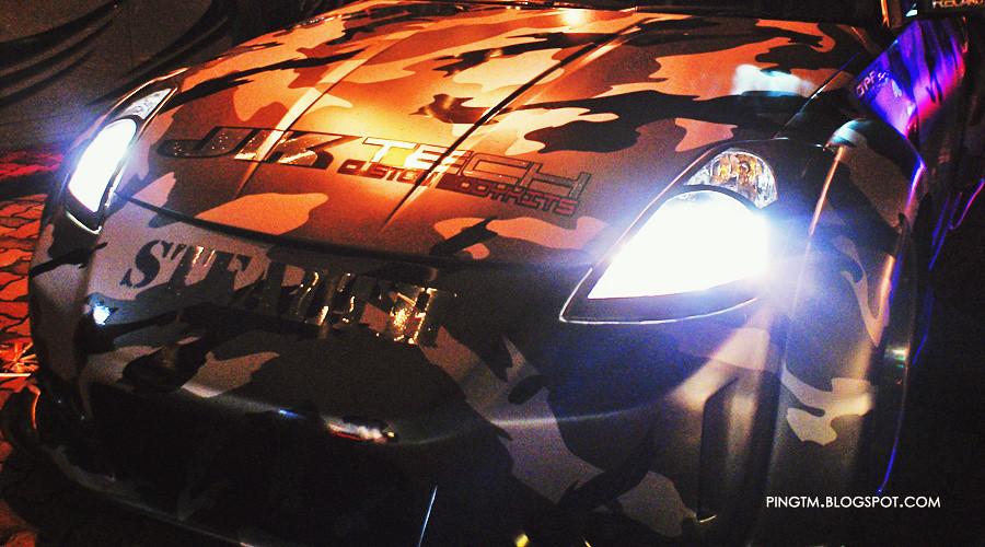 Camo Style Nissan Fairlady 350Z