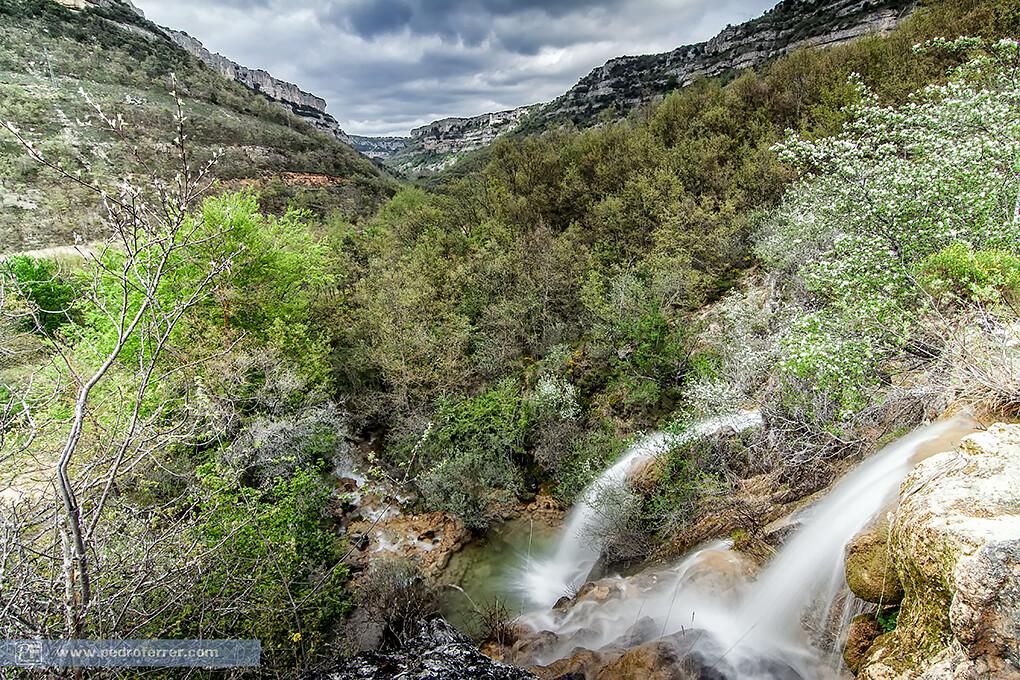 Cantabria - Cascada El Tobazo - Salto principal