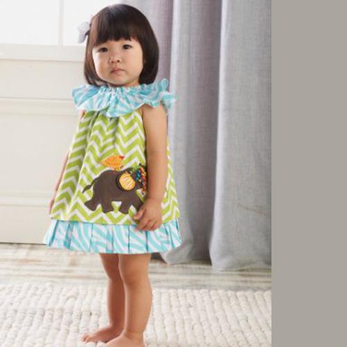 9- فستان رائع للبنوتات