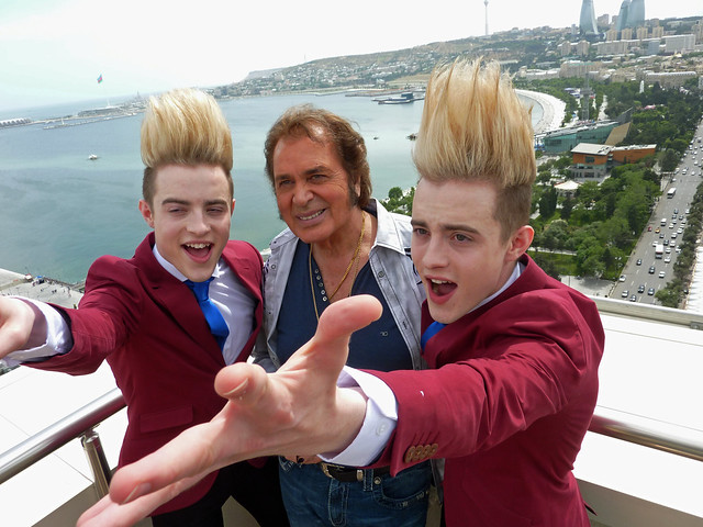 Jedward and Englebert Humperdinck