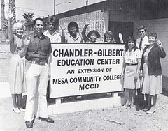 Chandler-Gilbert Education Center, 1987.