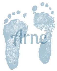 arne's feet