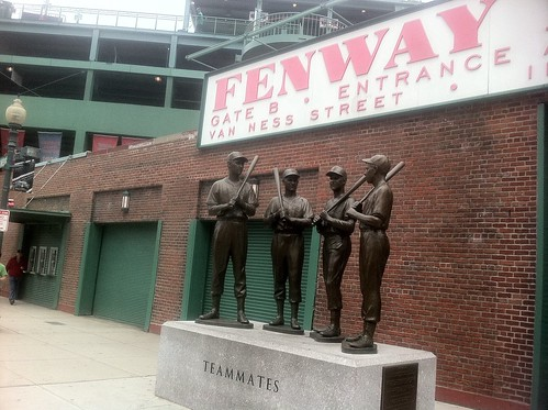 Boston - Fenway Park - The Teammate's Statue