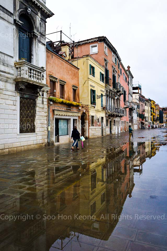 Rainy Day @ Venice, Italy