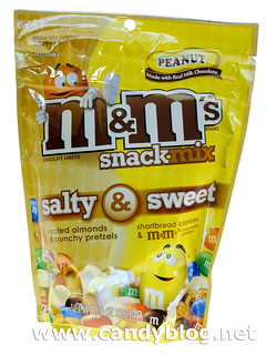 M&Ms Snack Mix - Salty & Sweet Peanut
