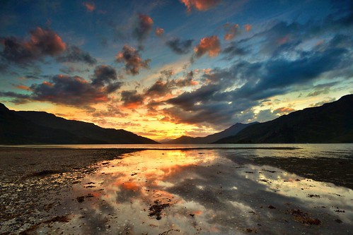 Loch Hourn Sunset - Knoydart by Michael~Ashley