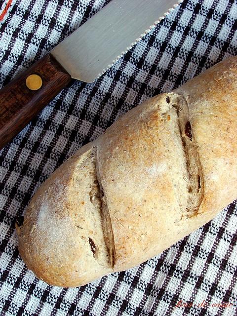 хлеб с изюмом и тмином 2