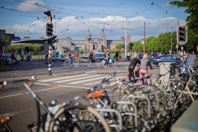 Amsterdam and its bicycles - Flickr CC Christian Lendl