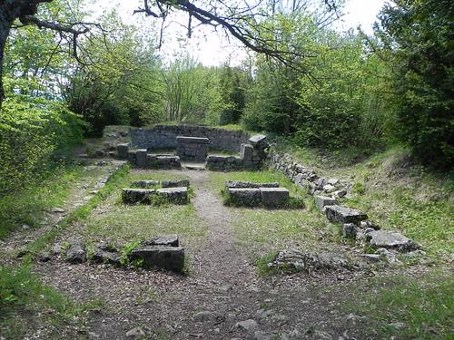 Ruines de l'ancienne chapelle