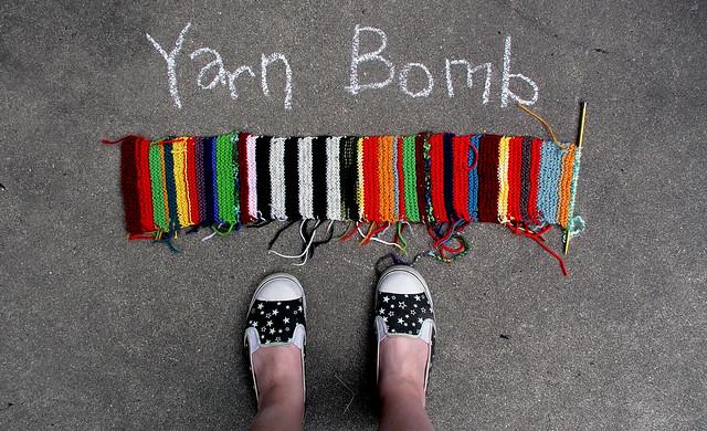 6.13 yarn bomb