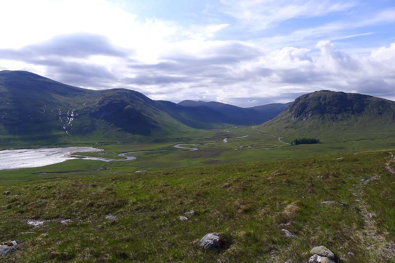 Loch Ghuilbinn and Strath Ossian