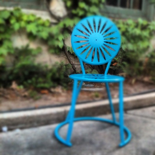 Monona Blue chair
