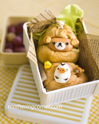 Rilakkuma and Kiiroitori bento copy