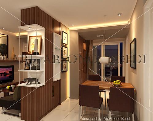 Apartment Interior Design Jakarta apartment design jakarta indonesia city skyline on a white