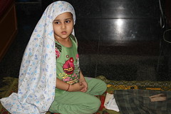The Power of The Namaz - Marziya Shakir 4 Year Old by firoze shakir photographerno1