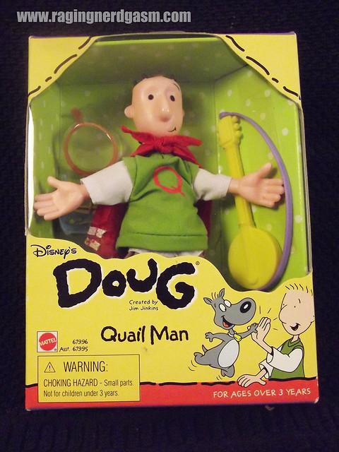 Doug as Quailman from Disney's Doug by Mattel | Flickr ... Quailman