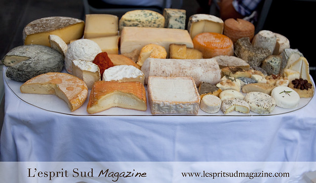 Le plateau de fromages (Cheese cart) -  Les Georges de Pennafort