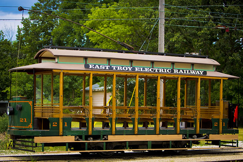East Troy Electric Railway by Ricky L. Jones Photography