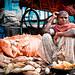 Relaxed Indian woman   Walking around Pune Market   Maharashtra   India by Daniele Romeo