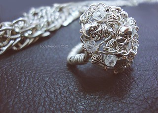 Metal skull ring (my Handmade Jewelry)