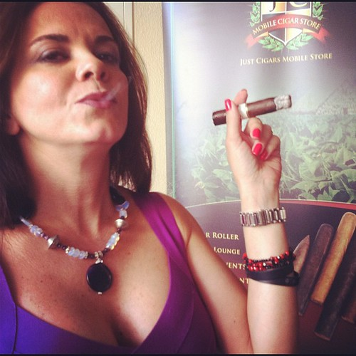 Sexy Cigar Smoking