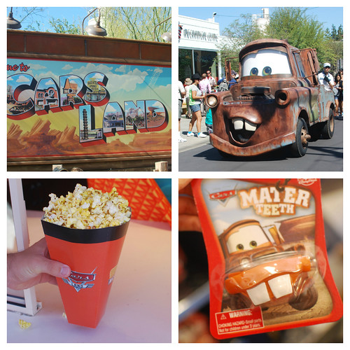 Cars Land Collage