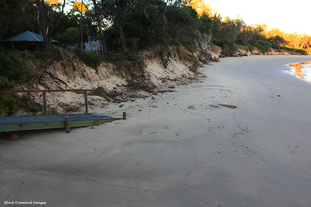Beach Erosion at Forster Beach, Scotts Head, Mid North Coast, NSW - 23rd June 2012