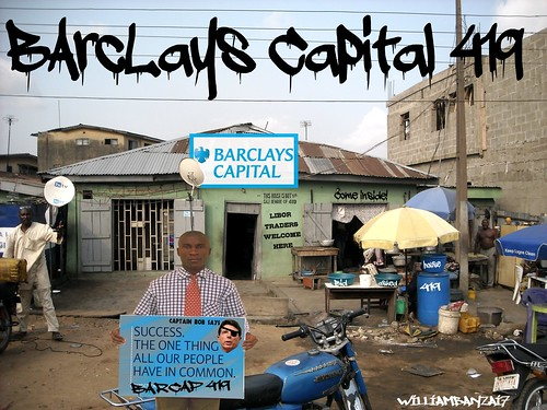 BARCLAY'S CAPITAL 419 by Colonel Flick
