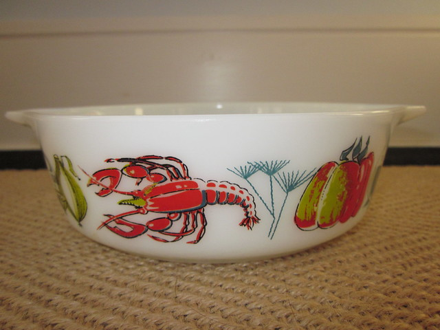 Lobster pyrex