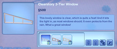 Clearstory 3-Tier Window