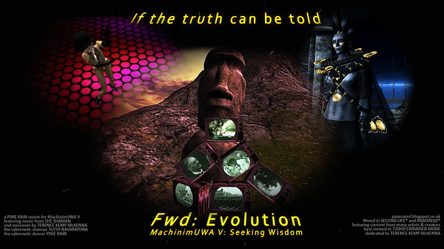 "MachinimUWA V: ""Fwd: Evolution"" Movie Poster"