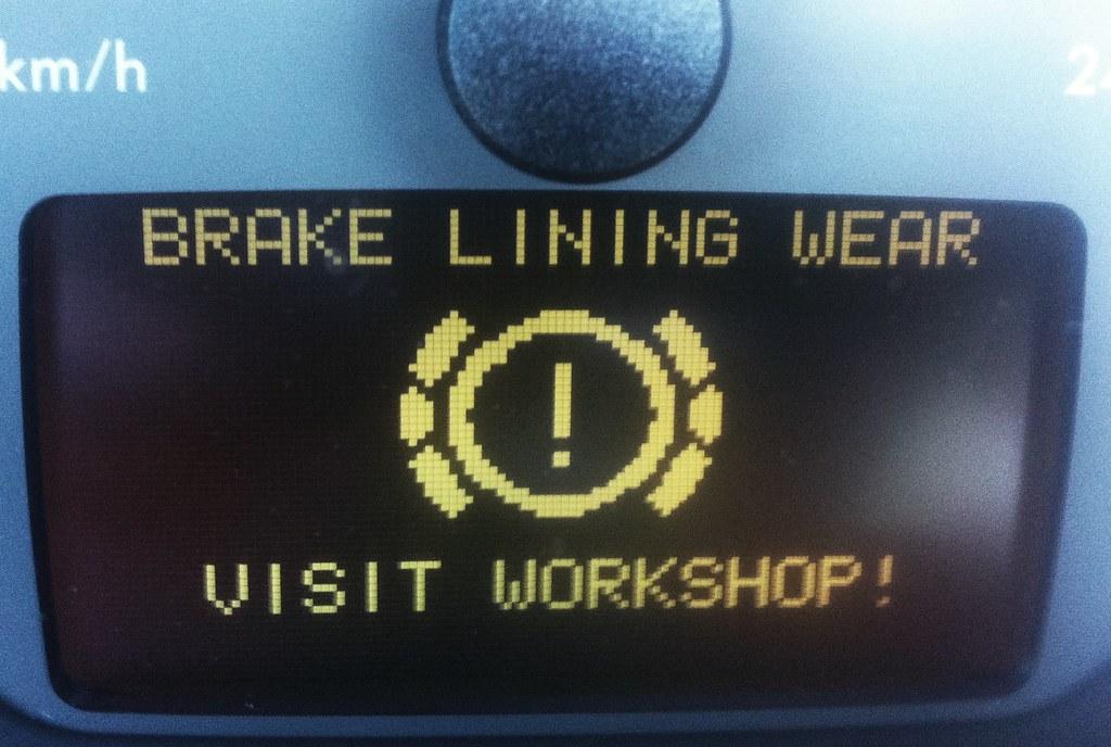Brake Lining Wear!!!