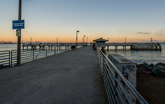 Shelter island fishing pier flickr photo sharing for San diego pier fishing