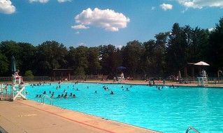 Pool at Neshaminy State Park
