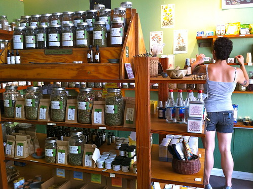 Maypop Community Herb Shop. Photo by Melanie Merz.
