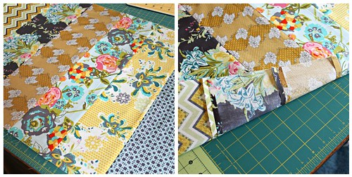 Quilted Pillow Sham Tutorial
