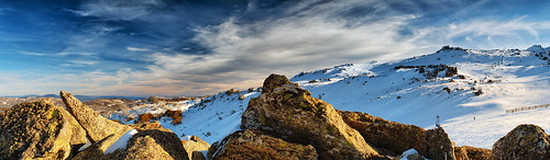 sunset sky snow mountains nikon australia panoramic