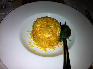 Arroz frito tailandes