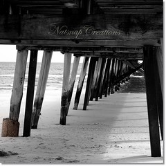 Grange jetty~selective colouring~Explored