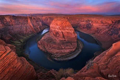 sunrise canon az canyon page coloradoriver 1740l horseshoebend adambaker 5dmkii